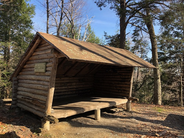 Brassie Brook Shelter on the AT