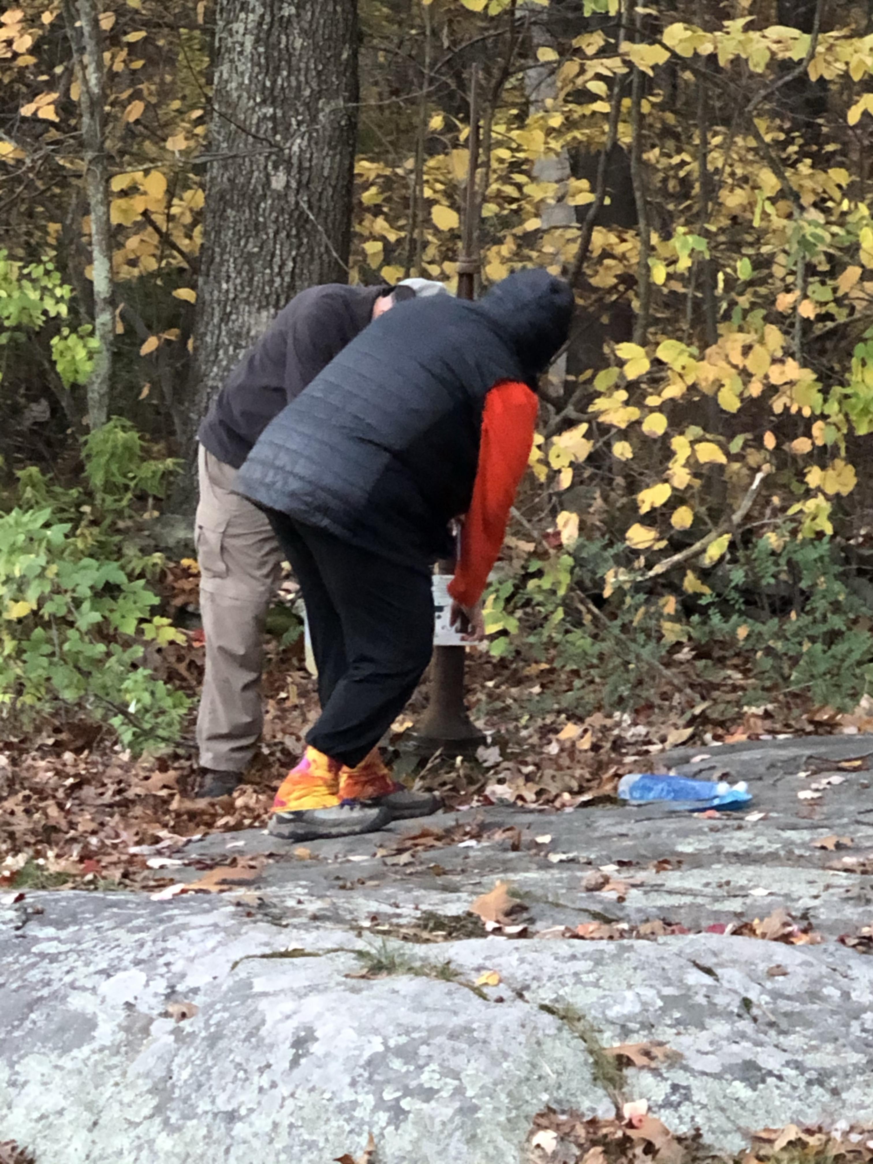 Hand Pump on the Appalachian Trail