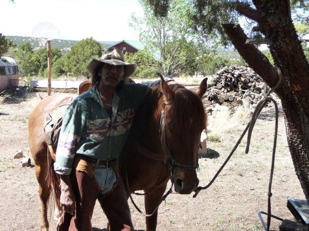 Cowboy in Pie Town