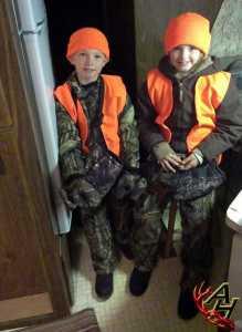 kids hunting