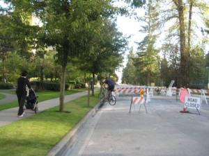 Sea to river bike route