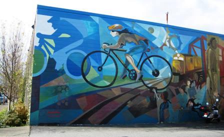 Vancouver-bike-mural