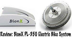 BionX electric bike kit - review of PL350 BionX