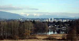 Deer Lake Park Bike Trails in Burnaby, BC, Canada - Guide plus Videos. Deer Lake Park Trails offer sweeping views of the lake and mountains. Deer Lake Park Bike Trails in Burnaby, BC, Canada