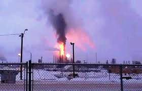 Alberta oilsands explosion 6 January 2011 -BP oil spill