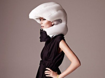 The world's first invisible bike helmet!