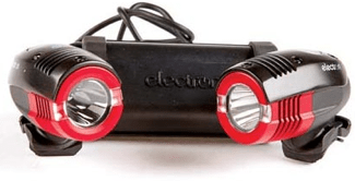 The Electron Terra 2 are my favorite flashing bike lights