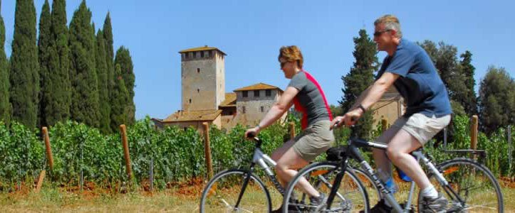 Cycling in Tuscany - bike honeymoons