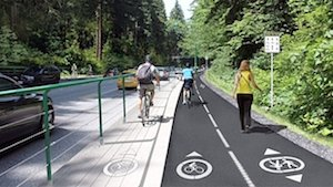 The proposed new, much safer infrastructure for the Stanley Park Causeway will keep pedestrians and cyclists safe