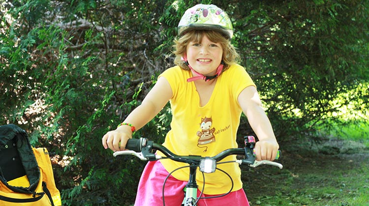 getting a decent bike that fits will help make your child's first cycling experience fun and safe