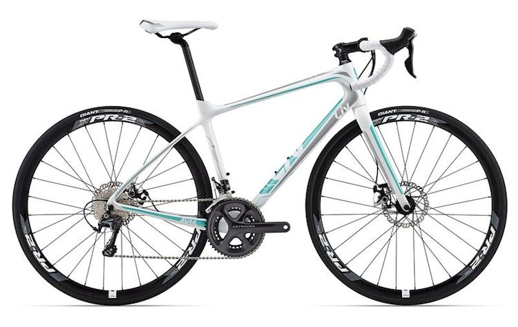 The Giant Avail Advanced - a truly great WSD road bike!