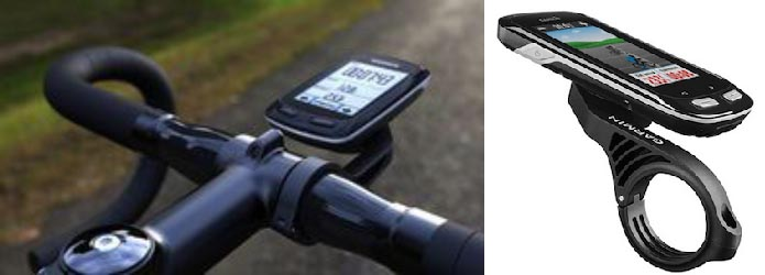 Carry your bike computer right in front using the Garmin out front mount, so it is easy and safe to look at. Garmin Edge Touring Navigator GPS Bike Computer Review