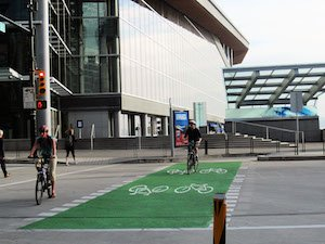 Getting to the Sea Side Bike Route from Hornby Street