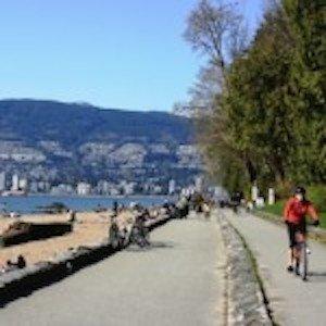 Seaside Bike Route red bike
