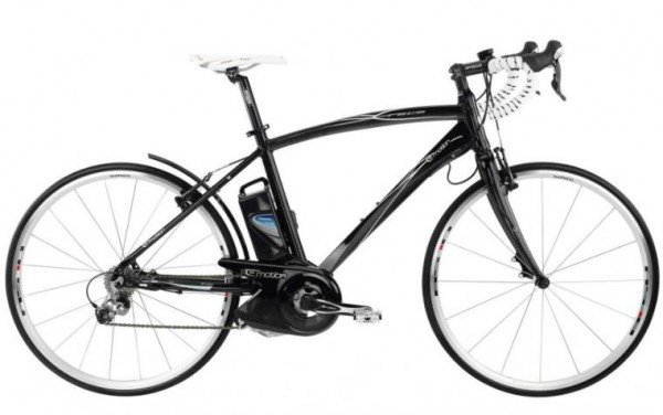 Electric bikes blog - Panasonic mid-drive bike motor on Emotion BH Bike