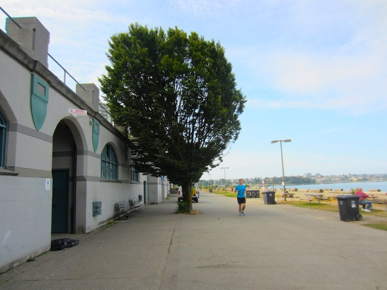 Old English Bay Pavilion - Seaside Bike Route Vancouver