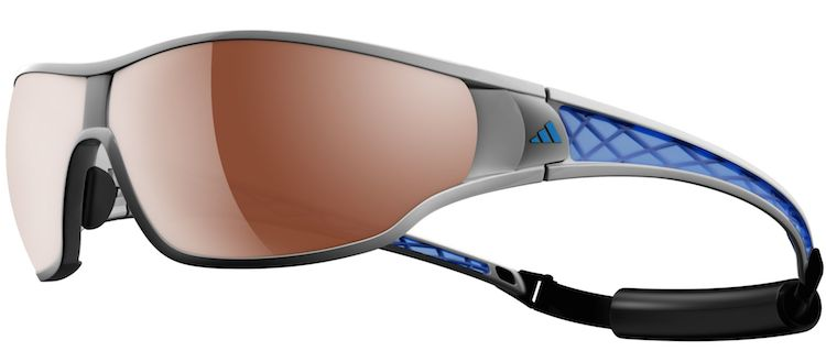 7cc77d3317b Adidas Ty Pro L 2 Cycling Glasses come with a removable strap that is  useful for keeping them in place underneath your helmet (or while rescuing  people from ...