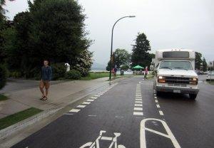 Seaside Greenway Shared Road - Average Joe Cyclist