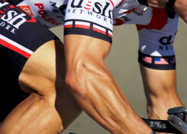 Hours of riding a bike will build lean muscle, especially in your legs and core