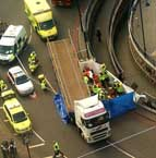 woman crushed by lorry 2009 - safe cycling in London
