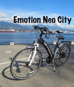 Here's my BH Emotion Neo City with hub drive motor