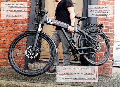 Spark electric bike