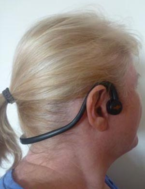 Aftershockz headphones don't cover up your ears, so you can still hear the world around you