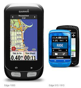 Garmin Edge 510 vs 810 vs 1000
