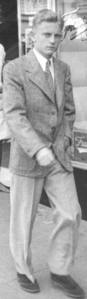 My father, Eddy Goodwill, as a very young man. His disability did not disable him - but in every photo I have of him, his non-existent left hand is in his pocket