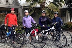 Cycing the Gulf Islands – Salt Spring Bed and Breakfast Welcomes Cyclists