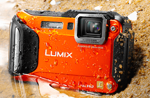 Lumix DMC-TS5 underwater camera
