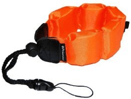 Lumix DMC-TS5 floating wrist strap keeps your underwater camera safe in the water - for less than $10!