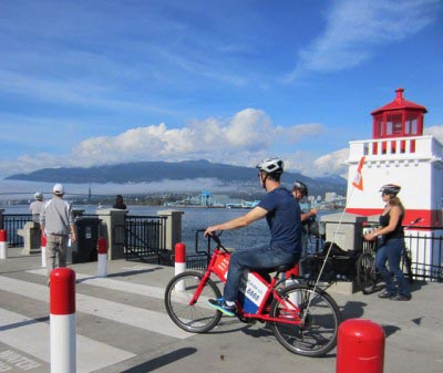 Vancouver Cycling - Brockton Point Lighthouse