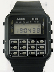Iconic Casio Calculator Watch - one of the first pieces of wearable technology - I had one of the first, back in the 1980s