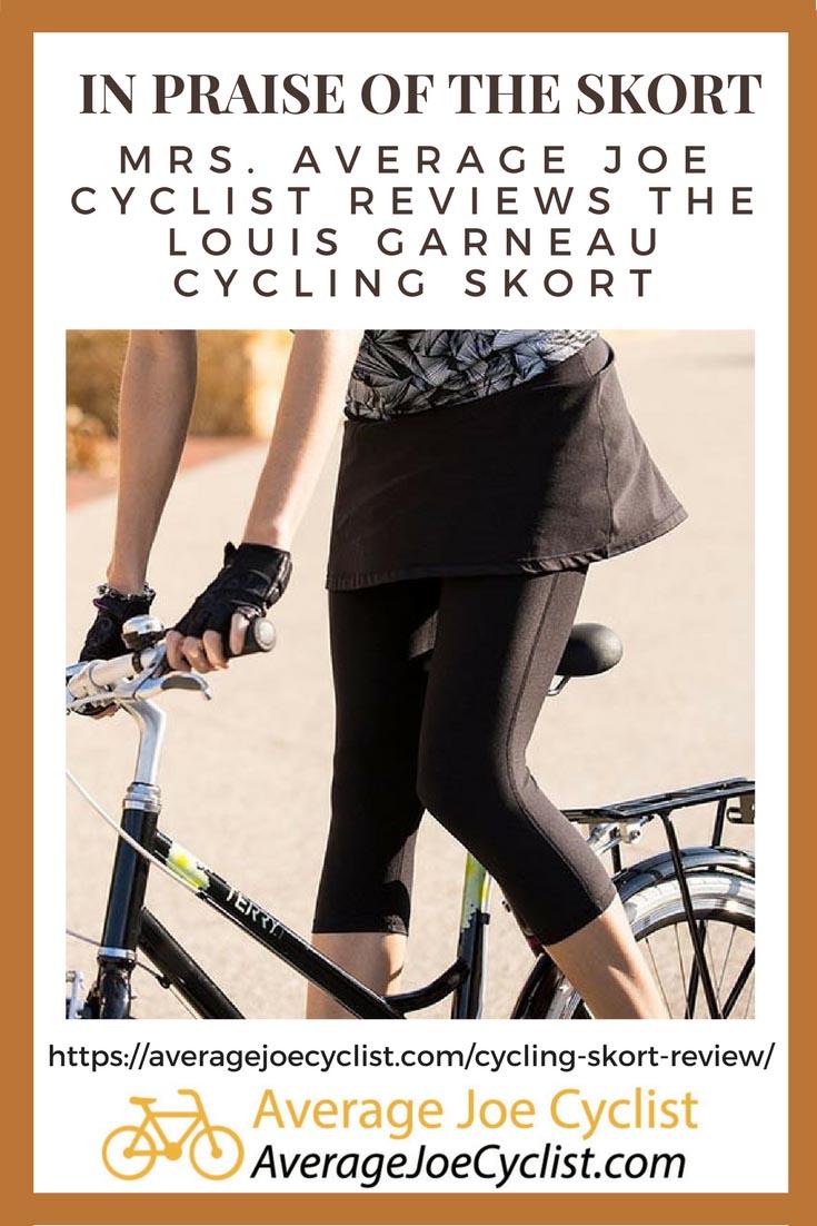 Mrs. Average Joe Cyclist reviews a cycling skort