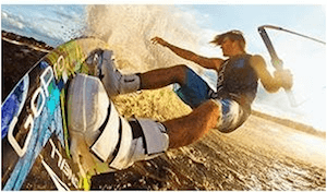The GoPro Hero is perfect for any active person who wants to capture the moment on film – on dry land or in the water