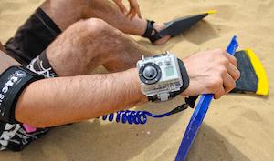GoPro Hero worn on wrist - GoPro Hero review