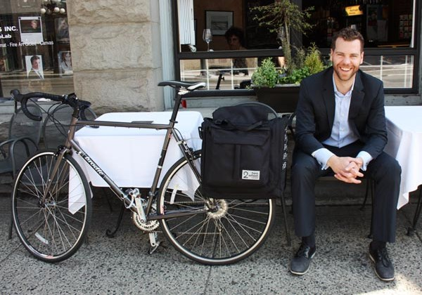 Reid Hemsing, cycle commuter and president of Two Wheel Gear