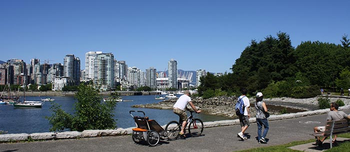 The Seaside Bike Route offers awesome views and endless activities all the way