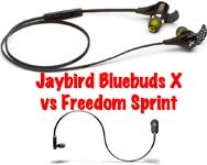 Jaybirds-X vs Jaybird Freedom Sprint2