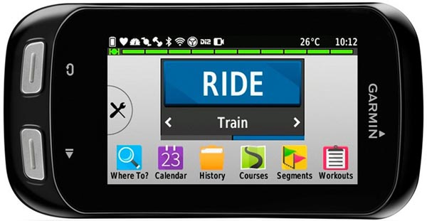 I really like the new icons based interface on the Garmin Edge 1000 - Edge 1000 vs 810