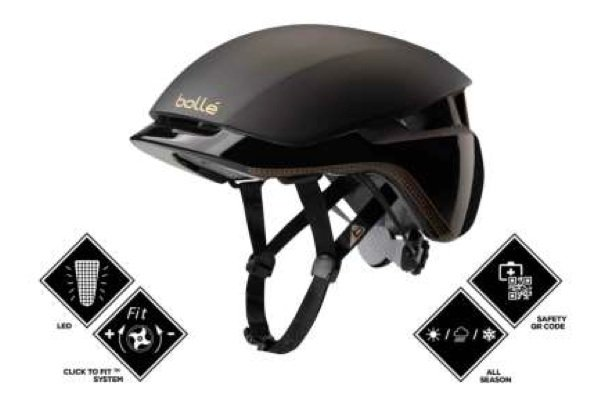 The other new Bolle helmet - Messenger, for Urban Cyclists
