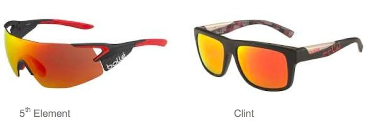 The One cycling helmets are designed to work with the high performance eyewear in the Competitor Cycling collection, including the all-new 5th Element Pro. Messenger cycling helmets can be paired with the more casually styled models in the Bollé Sport Lifestyle range of sunglasses, like the popular Clint - Bolle cycling helmets
