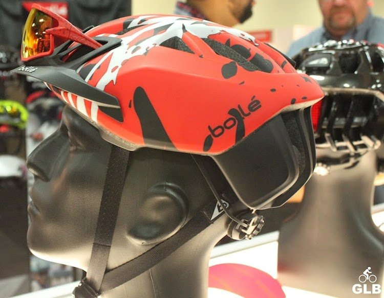 The new Bolle Cycling Helmet - The One - an all-in-one integrated helmet system aimed at mountain bikers