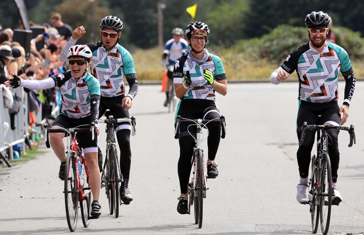 Finishing a charity ride like the Ride to Conquer Cancer will change your life!