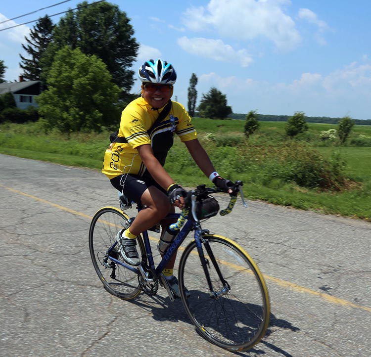 """Michelle Sirio says """"I've always been a person of hope"""" - and now she hopes to complete her TENTH Ride to Conquer Cancer!"""