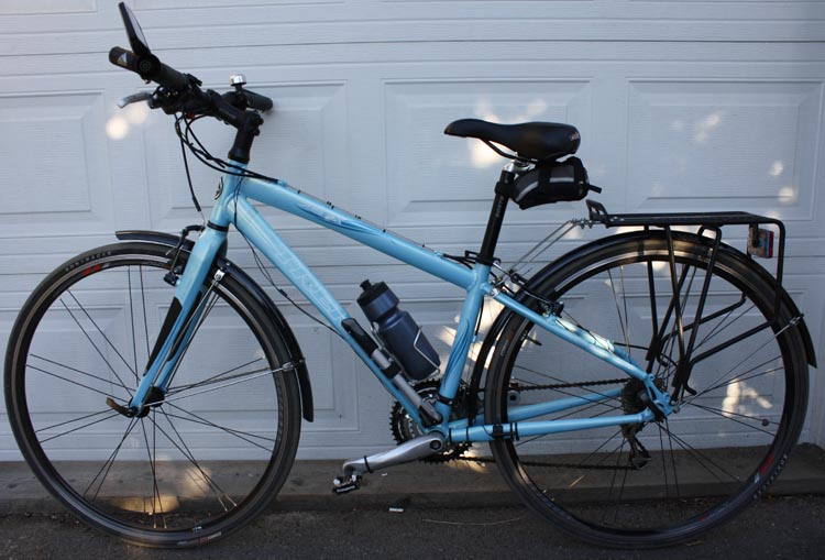 This is the really good used bike (Trek 7.5 FX) that I bought for my wife online, via Craigslist. How to buy used bikes online
