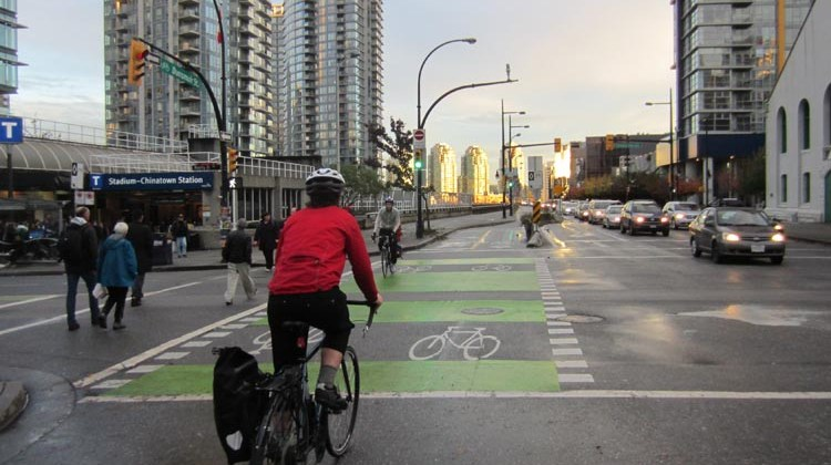 Yes, we actually pay more than our share to ride these lovely streets of Vancouver