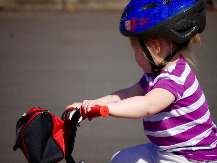 It's (almost) never too early to start riding a bike! How to Get Kids Active