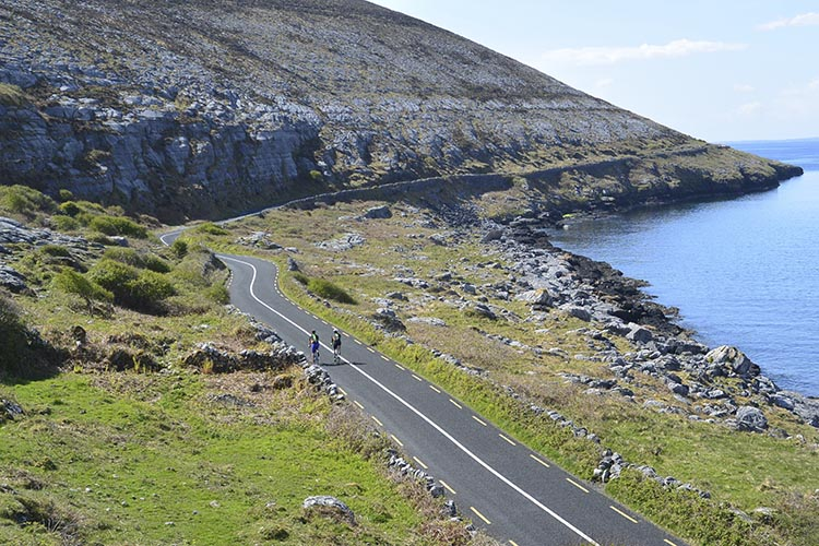 Cycling in Ireland - a once in a lifetime experience - or more, if you're lucky!